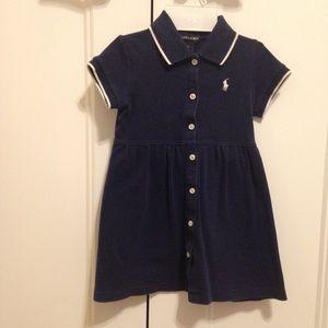 Navy blue Ralph Lauren dress size 2t